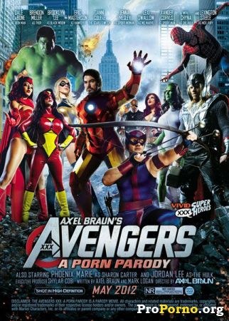 Мстители, XXX Пародия / Avengers XXX: A Porn Parody (2012)