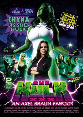Женщина-Халк, XXX Пародия / She-Hulk XXX: An Axel Braun Parody (2013)