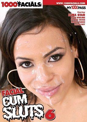 Залитые cпермой шлюхи 6 / Facial Cum Sluts 6 (2017)