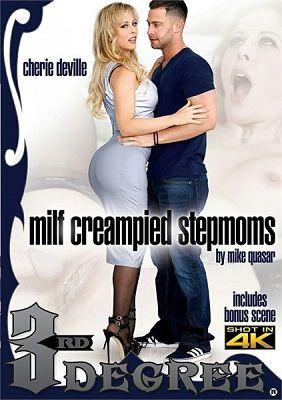 Обконченные мамочки-мачехи / MILF Creampied Stepmoms (2018)